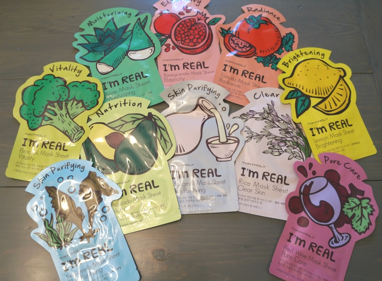 Tony Moly I'm Real Sheet Masks