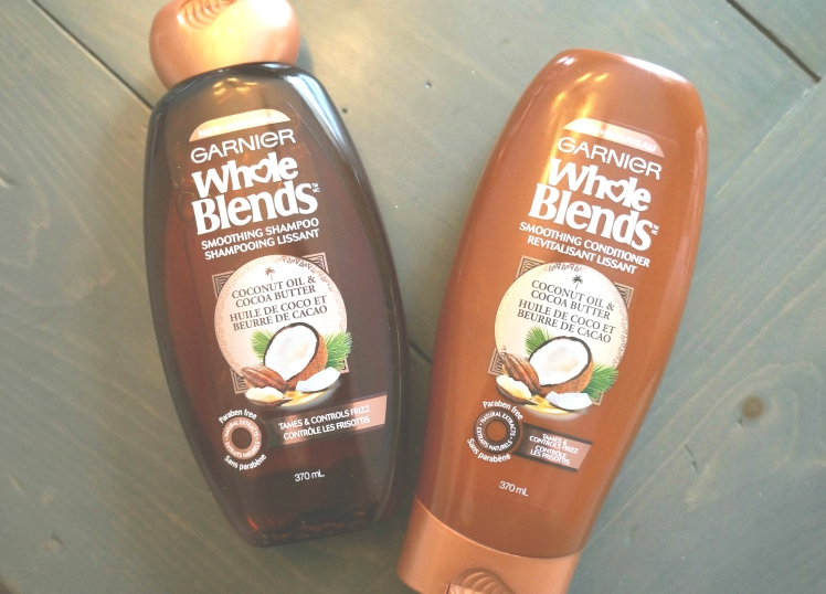 Garnier Whole Blends Smoothing Shampoo and Conditioner